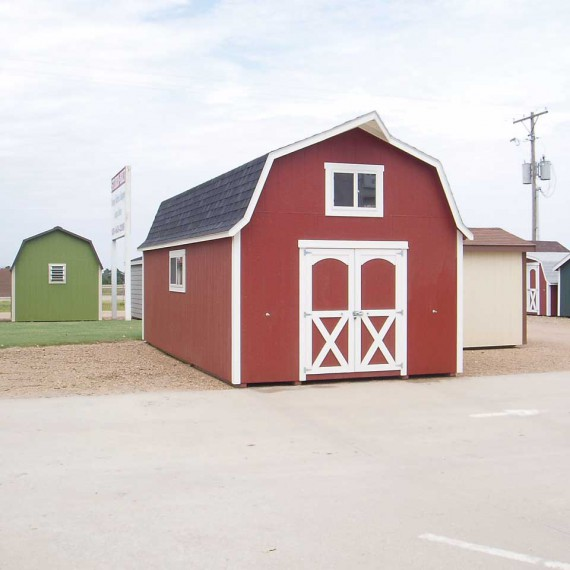 Outdoor Portable Storage Sheds & Barns Built in Topeka by Sturdi-Bilt
