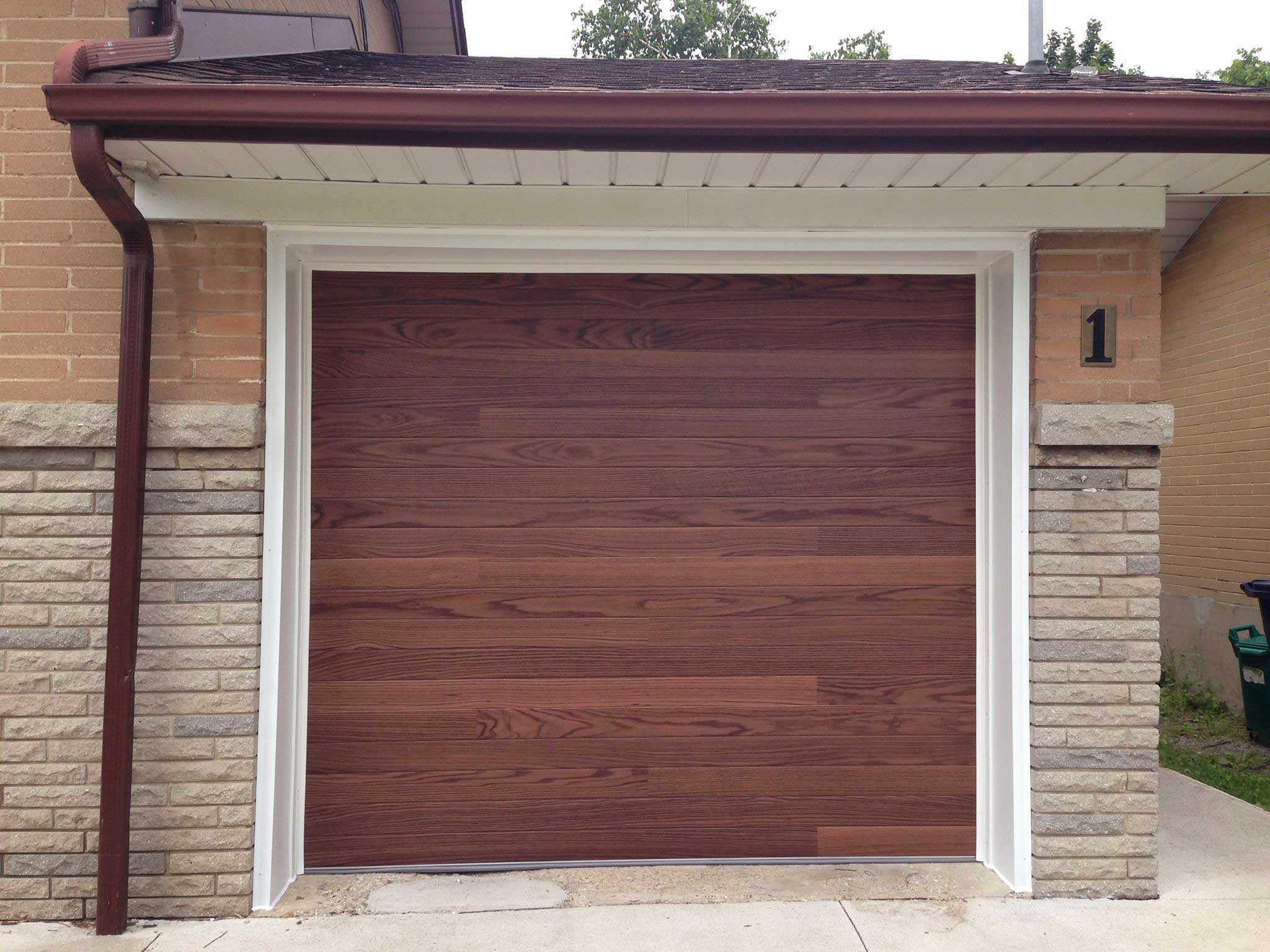 Sturdi bilt faux wood planks collection for Faux wood garage doors prices