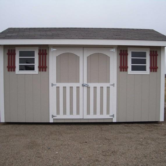 Sturdi-Bilt's Portable Rancher Storage Shed in Enid