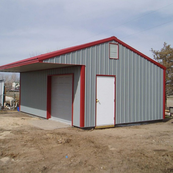Sturdi Bilt Steel Sided Garage