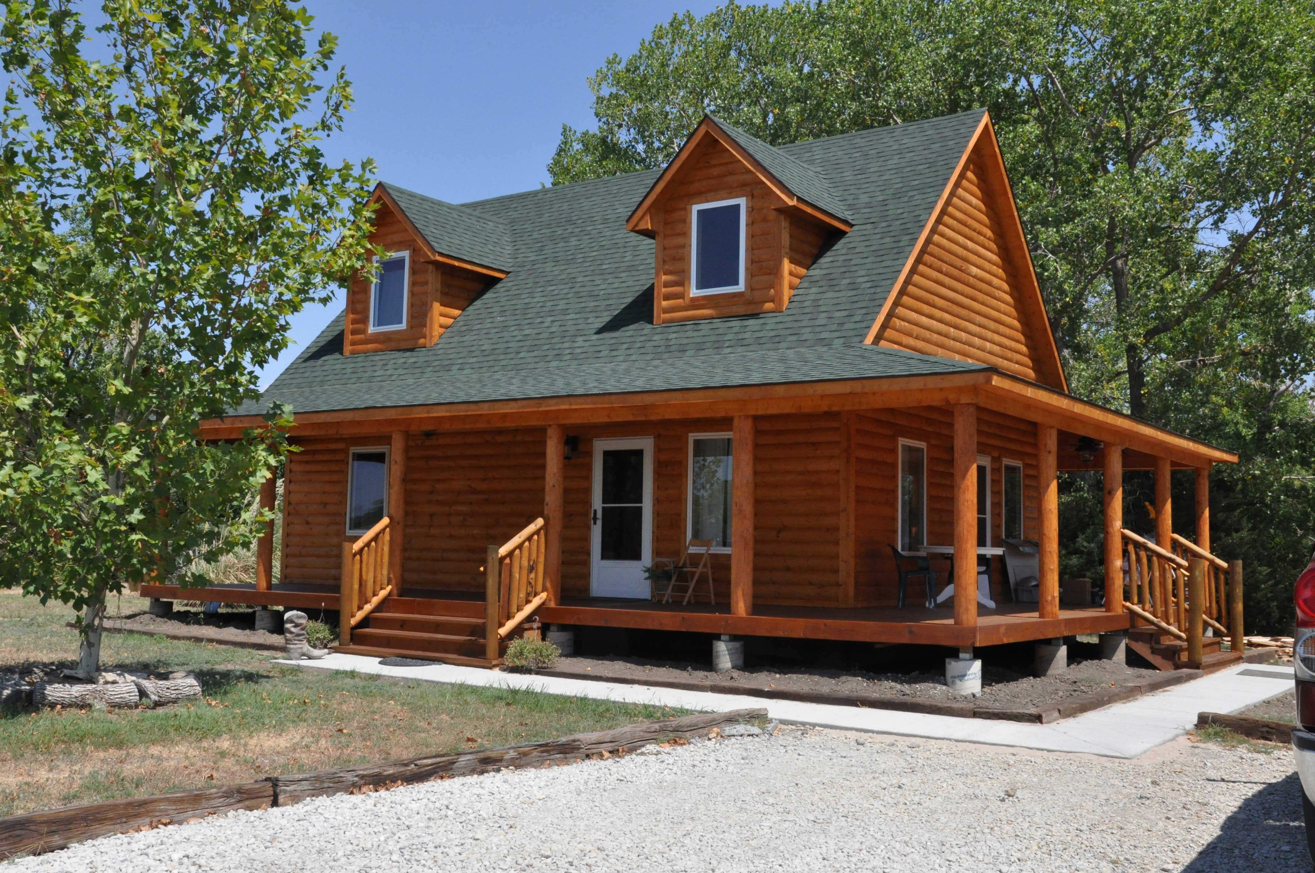 Wonderful image of  IN TOUCH WITH US TODAY & REQUEST A FREE QUOTE ON A WRAPPED PORCH CABIN with #6E3A1F color and 4288x2848 pixels
