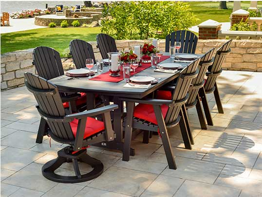 Incroyable Wooden Patio Furniture Kansas