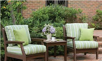 Beautiful Wooden Patio Furniture by Sturdi-Bilt
