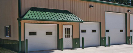 commercial sectional doors kansas