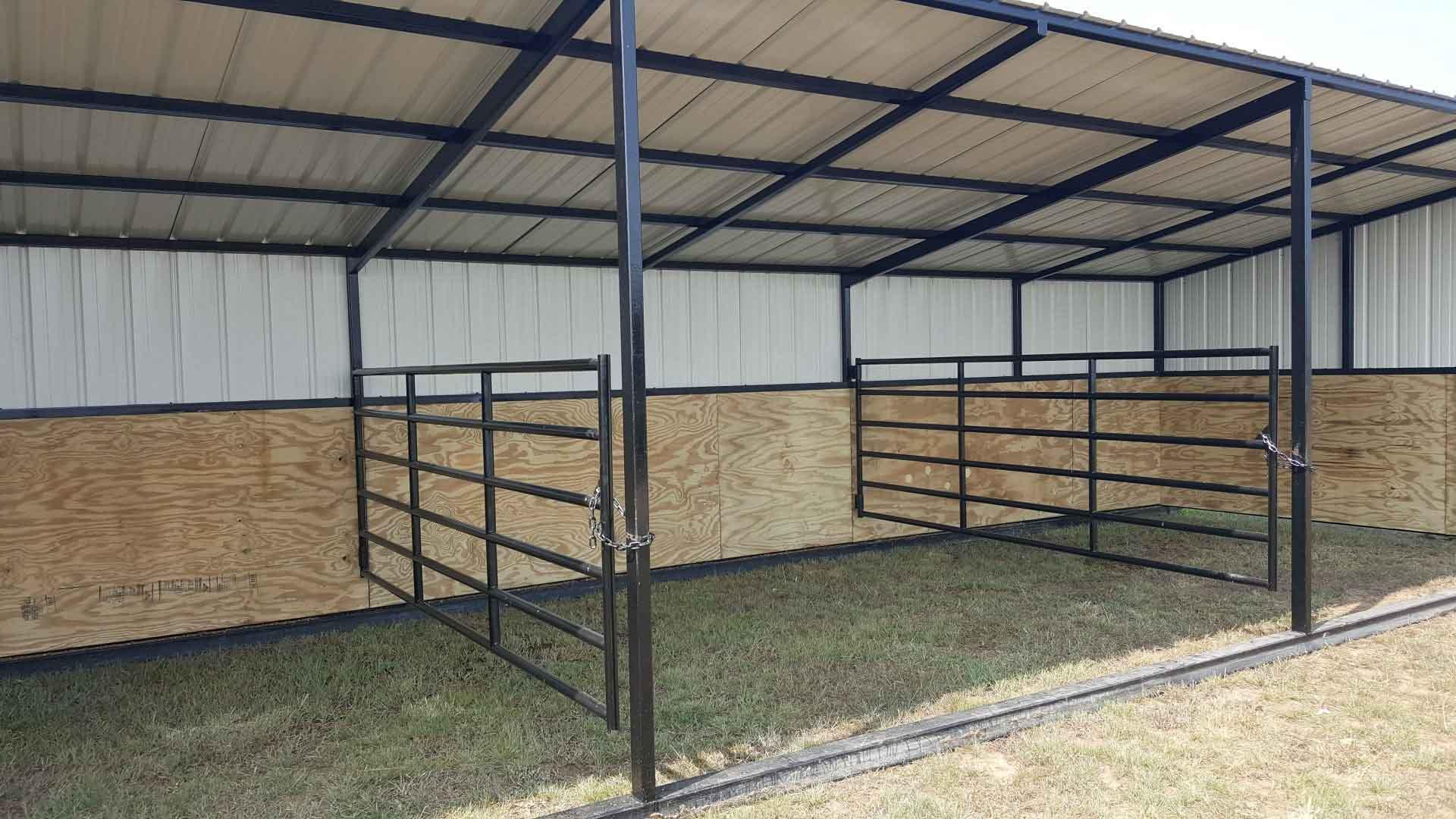 Sturdi-Bilt | Steel-Framed Livestock Shelter