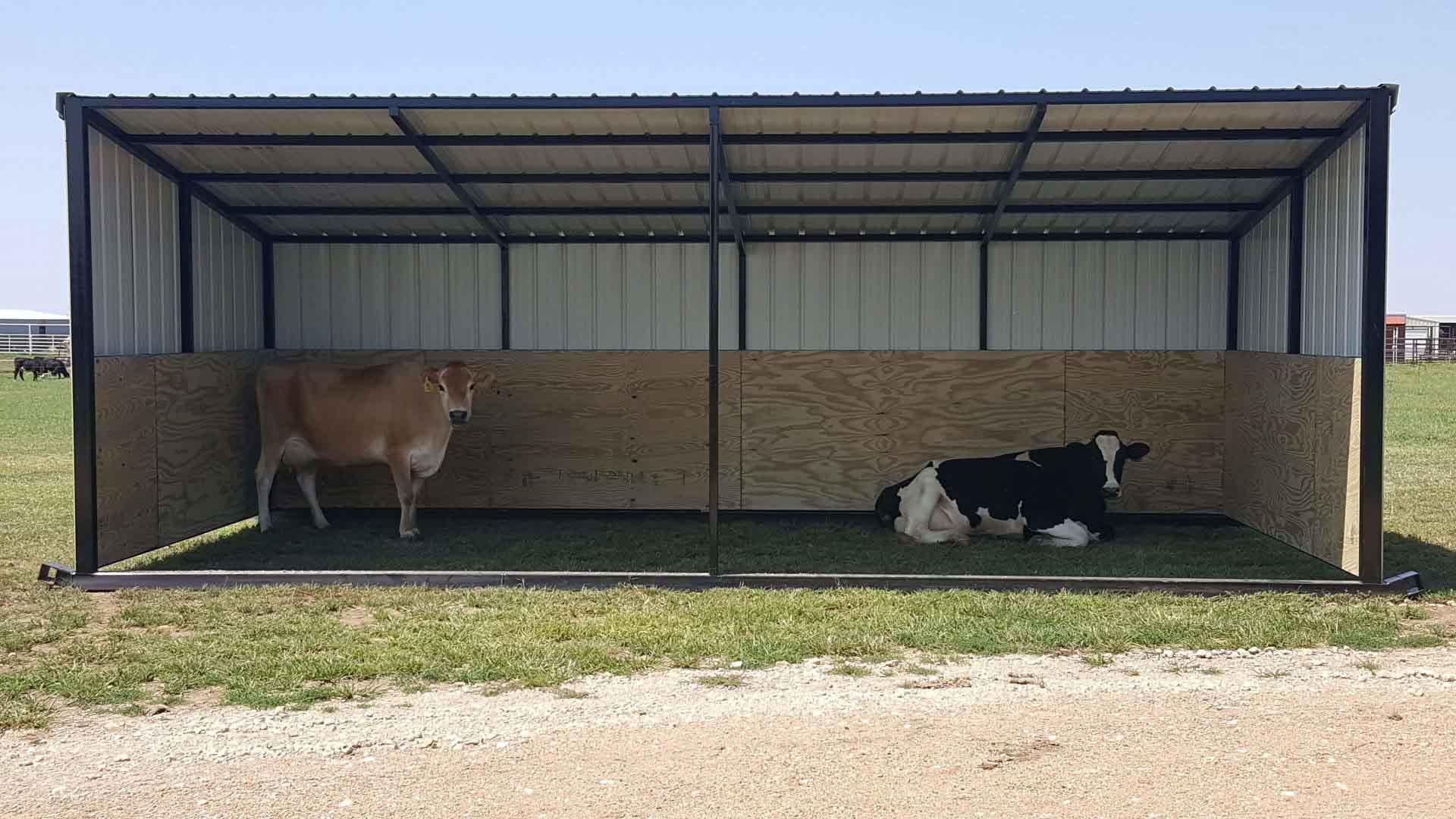 Sturdi Bilt Steel Framed Livestock Shelter